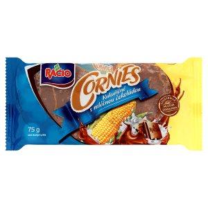 Racio Cornies Kukuřičné s čokoládou 75g, vybrané druhy