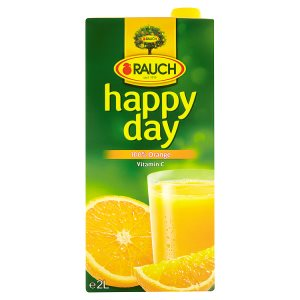 Rauch Happy Day džus 100% 2l, vybrané druhy