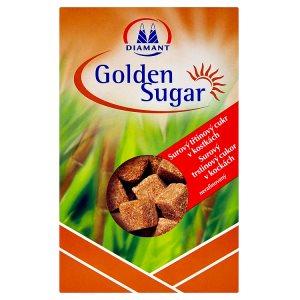 Diamant Golden Sugar Surový třtinový cukr v kostkách 500g