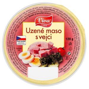 Viva Carne Uzené maso s vejci 120g