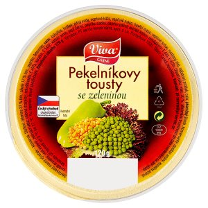 Viva Carne Pekelníkovy tousty se zeleninou 120g