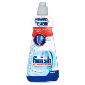 Finish Power & Pure Leštidlo do myčky na nádobí 385ml