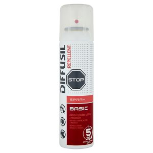 Diffusil Repellent repelentní sprej na odpuzování komárů, klíšťat a muchniček 150ml