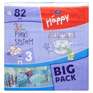 Bella Baby Happy Jednorázové plenky 5-9kg 82 ks