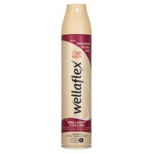 Wella Wellaflex Brilliant colors lak na vlasy pro ultra silné zpevnění 250ml