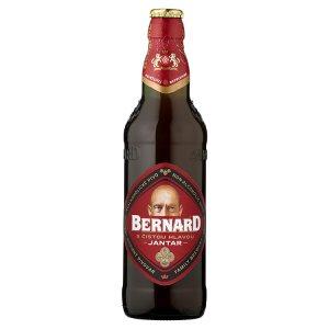 Bernard Jantar nealkoholické polotmavé pivo 0,5l