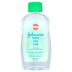 Johnson's Baby Olej s aloe vera 200ml