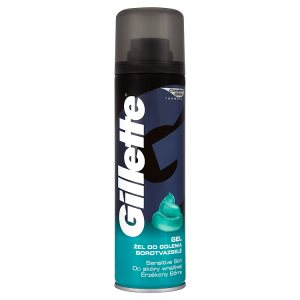 Gillette Sensitive skin gel na holení 200ml