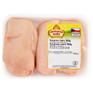 Vodňanské Kuře Kuřecí prsní řízky 500g