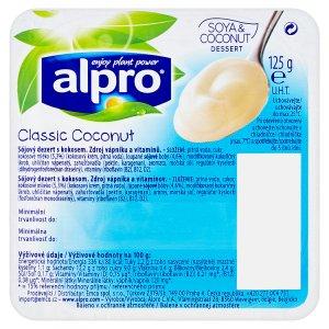 Alpro Classic Coconut sójový dezert 125g