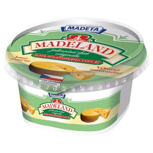 Madeta Madeland tavený sýr 40% 125g