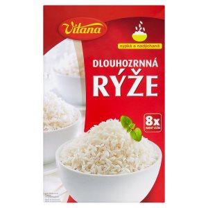 Vitana Rýže dlouhozrnná 8 x 100g