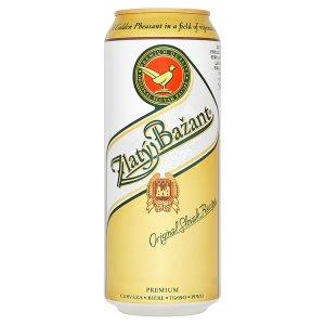 Zlatý Bažant Pivo ležák světlý 500ml