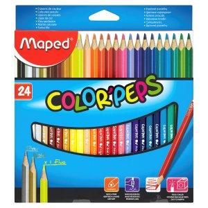 Maped Color' Peps Pastelky trojboké 24 ks