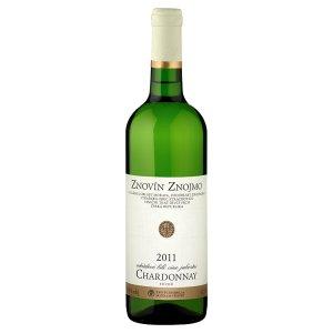 Znovín Znojmo Chardonnay 2011 odrůdové jakostní bílé suché víno 0,75l