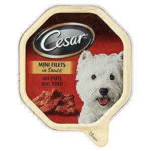 Cesar Krůtí a hovězí maso kompletní krmivo pro dospělé psy 150g