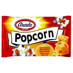 Arado Popcorn do mikrovlnné trouby, sýrová příchuť 90g