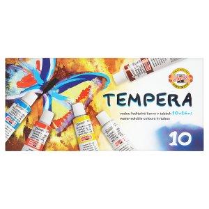 KOH-I-NOOR Temperové barvy v tubě 10 x 16ml