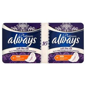 Always Platinum Ultra normal plus hygienické vložky s jemnou vůní 16 ks
