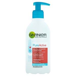 Garnier Skin Naturals Pure Active gel pro intenzivní čištění pórů 200ml