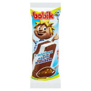 Bobík Řez s mléčnou náplní a medem