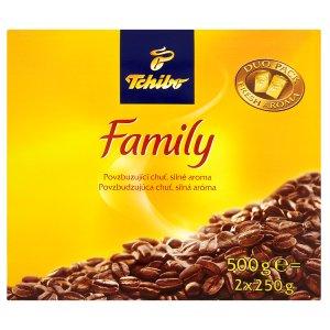 Tchibo Family Pražená mletá káva 2 x 250g