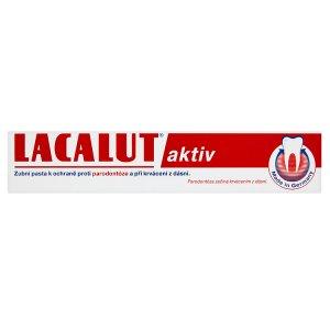 Lacalut Aktiv zubní pasta proti paradontóze 75ml