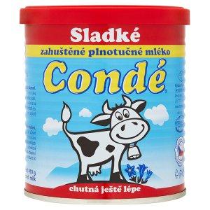 Condé Sladké zahuštěné plnotučné mléko 410g v akci