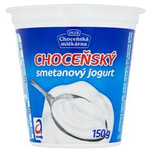 Choceňská Mlékárna Choceňský smetanový jogurt bílý 150g