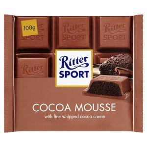 Ritter Sport Mléčná čokoláda plněná pěnovým kakaovým krémem 100g