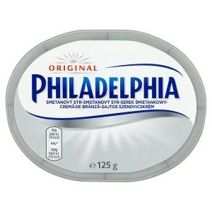 Philadelphia smetanový sýr 125g, vybrané druhy