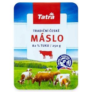 Tatra Tradiční české máslo 250g