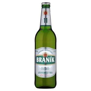 Braník Jedenáctka pivo ležák světlý 0,5l