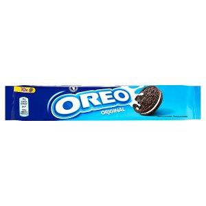 Oreo Original kakaové sušenky s náplní s vanilkovou příchutí 110g
