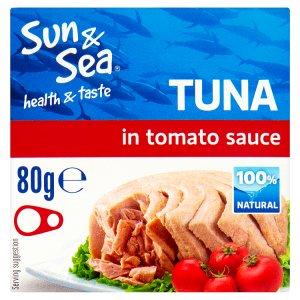 Sun & Sea Tuňák v rajčatové omáčce 80g