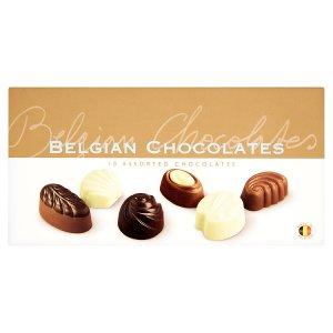 Hamlet Belgian chocolates čokoládové pralinky ve zlatém obalu 125g