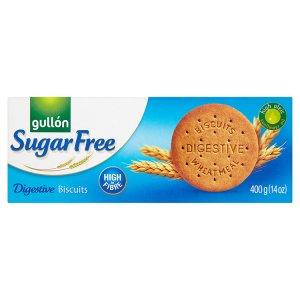 Gullón Digestive celozrnné sušenky bez cukru 400g