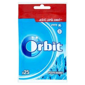 Wrigley's Orbit žvýkačky bez cukru 25 ks sáček, vybrané druhy