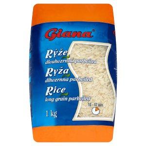 Giana Rýže dlouhozrnná parboiled 1kg