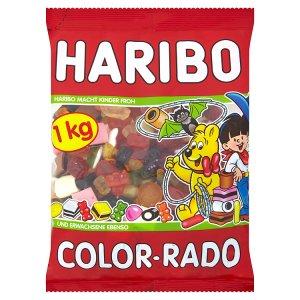 Haribo bonbony 1000g, vybrané druhy