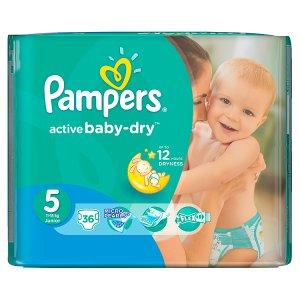 Pampers Active Baby Pleny 5 Junior 36 ks