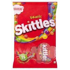 Skittles 8 mini sáčků, vybrané druhy