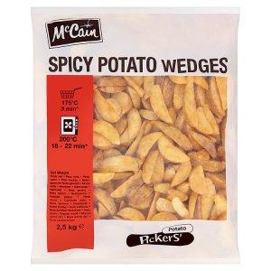 McCain Kořeněné americké brambory 2,5kg
