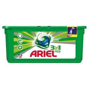 Ariel gelové kapsle 30 dávek, vybrané druhy