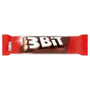 3Bit Sušenka s mléčnou čokoládou a mléčnou náplní 46g