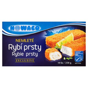 Nowaco Exclusive nemleté rybí prsty 10 ks 250g