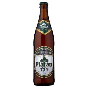 Platan 11% pivo světlý ležák 0,5l
