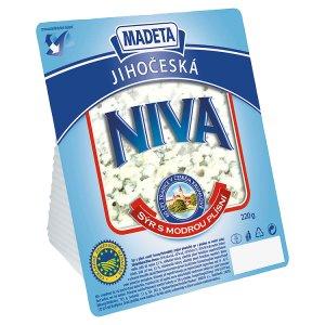 Madeta Jihočeská Niva 50% sýr s plísní uvnitř hmoty porce 220g