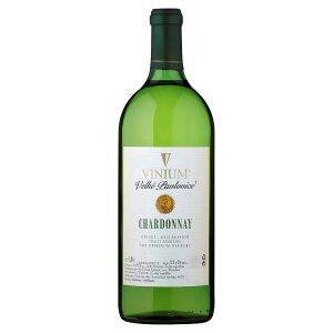 České Vinařské Závody Velké Pavlovice Chardonnay víno bílé 1,0l
