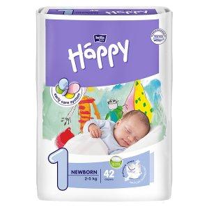 "Happy Newborn Dětské plenky ""1"" á 42 ks"